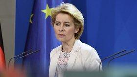 Šéfka příští Evropské komise Ursula von der Leyenová (8. 11. 2019)