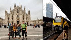 Mladí poznávají kontinent a dopravu platí EU.