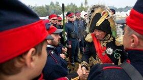 Oleg Sokolov často účinkoval při rekonstrukcích historických bitev.