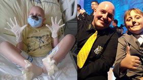 Přemohl zákeřnou leukémii! Teď se potkal s člověkem, který mu daroval kostní dřeň.