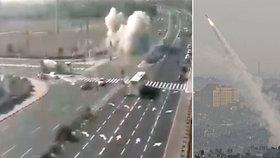 Napětí v Gaze: Mezi Palestinci a Izraelci opět létají rakety, zasáhly i dálnici (12.11.2019)