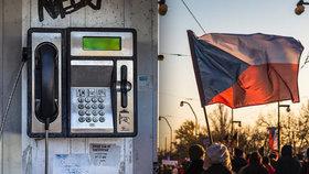 V neděli zazvoní všechny telefonní budky, připomenou revoluci