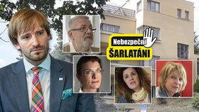 """Šéf zdravotnictví Vojtěch změnil plány: Na šarlatány dohlédne jen """"živnosťák""""."""
