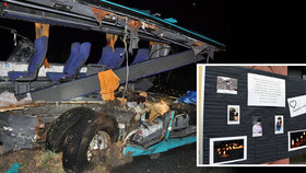 Příbuzní zemřelých z autobusu smrti prožívají nejhorší chvíle svých životů.