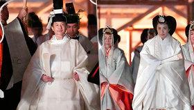 Japonský císař má za sebou poslední nástupnický rituál.
