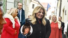Rudý plášť s liškou ministryně Dostálové očima Františky: Mezinárodní ostuda!