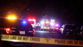 Při střelbě v kalifornském městě Fresno bylo zasaženo deset lidí, čtyři z nich zemřeli. (18. 11. 2019)