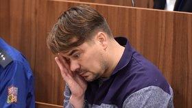 Marek Dalík u znojemského soudu. (18.11.2019)