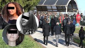 Pohřeb Veroniky (†17), Natálky (†15) a Denisy (†17) z autobusu smrti: Lidé kolabovali žalem