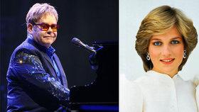Harry s Williamem v úžasu: Elton John jim řekl, co neměl pro Dianu dělat!