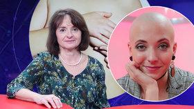 Alena Bílková z Mammacentra Budějovická a herečka Anna Slováčková, která onemocněla rakovinou prsu
