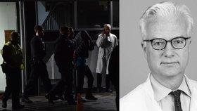 Fritze von Weizsäckera (†59) při lékařské přednášce v Berlíně ubodal muž ve věku 57 let bez záznamu v rejstříku (19. 11. 2019)
