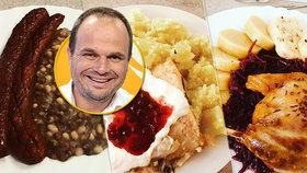 Starosta Nového Města na Moravě testuje obědy ve školních jídelnách. Chce zjistit nedostatky. Zatím mu prý chutná, polévky si ale nosí domů, porce jsou prý velké.