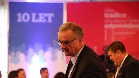 Miroslav Kalousek na 6. volebním sněmu TOP 09 v Praze