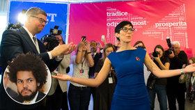 Dominik Feri si díky zvolení Markéty Pekarové Adamové rozmyslí, jestli bude znovu kandidovat do Poslanecké sněmovny.