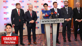 Petr Holec komentuje nové vedení TOP 09.
