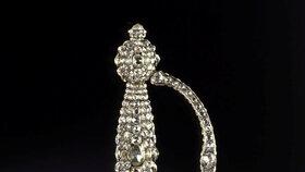 Šperky ukradené z drážďanské klenotnice (26.11.2019)