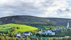Lázeňský Oberwiesenthal, ležící v 914 metrech nad mořem, je nejvýše položeným městem Německa