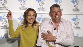 Lenka s manželem vyhráli přes tři miliardy korun!