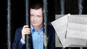 David Rath odpověděl z věznice na 28 otázek poslaných z redakce Blesk Zpráv.