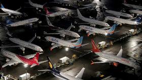 Boeingy 737 v americkém Seattlu