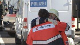 I zasahující záchranáři byli z tragédie zdrcení