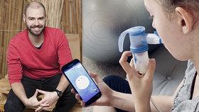 Marek Vosecký vymyslel spolu se svým týmem aplikaci, která pomáhá pacientům s cystickou fibrózou.