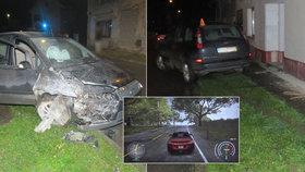 """Snadné jako počítačová hra?! Dva kluci si vypůjčili tátovo auto: Noční """"erzeta"""" ale skončila zraněním."""
