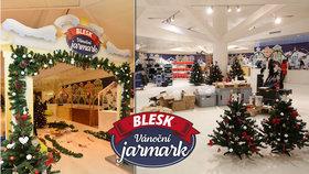 Vánoční Jarmark Blesku otevírá své brány