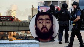Terorista Usman Khan pobodal 5 lidí ve Fishmongers! Hall. Dva lidé zemřeli.