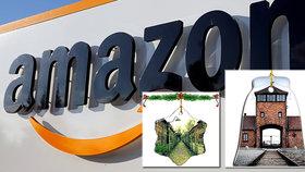 Tohle se Amazonu nepovedlo: Internetový obchod nabízel vánoční ozdoby s motivem Osvětimi.