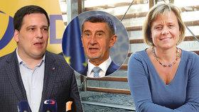 Europoslanci Veronika Vrecionová (ODS) a Tomáš Zdechovský (KDU_ČSL) diskutovali o zprávě EK o střetu zájmů premiéra Andreje Babiše (ANO).
