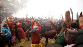 Hinduističtí věřící obětují zvířata od buvolů až po krysy.