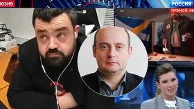 Politolog Jan Šír jako host pořadu na téma konflikt Pavla Novotného s Ruskem