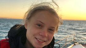 Švédská aktivistka Greta Thungergová dorazila po 3 týdnech na moři do Evropy, (3.12.2019).