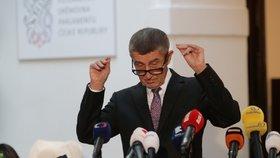 Premiér Andrej Babiš (ANO) (4.12.2019)