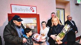 Babybox ve Fakultní nemocnici Královské Vinohrady
