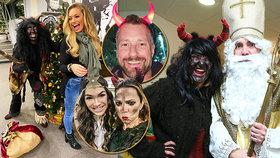 Jak oslavili pátý prosinec celebrity a jejich potomci?