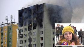 Svědkové promluvili o výbuchu paneláku v Prešově.