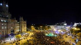 V Madridu začal Pochod za klima, jde v něm i Thunbergová.