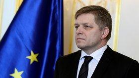 Slovenský expremiér a předseda vládního Směru Robert Fico