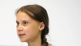 Thunbergová vyzvala k ochraně domorodého obyvatelstva.