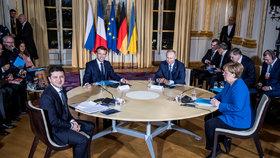 Summit ke krizi na Ukrajině, během kterého padla řeč i na srpnovou vraždu Gruzínce v Berlíně.
