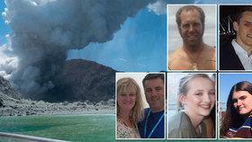 Po výbuchu sopky je 5 mrtvých, mezi nimi i průvodce, pohřešují se celé rodiny.