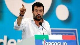 Předseda italské Ligy Severu Matteo Salvini