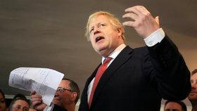 Boris Johnson po triumfu ve volbách vyrazil na sever Anglie (14.12.2019).