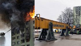Do Prešova dorazil demoliční stroj z Kladna