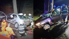 Tragická nehoda na Nymbursku. Při nehodě zemřel jeden člověk.