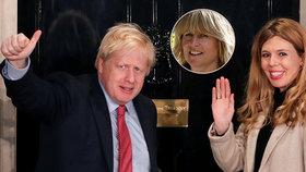Rachel Johnsonová, sestra premiéra Johnsona, se zatím neseznámila s partnerkou Carrie Symondsovou.