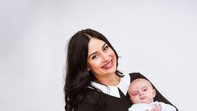 Alex Mynářová se nechala nafotit se synem a v oblečení, které prodává.